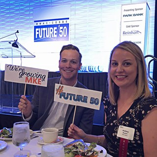 Park Bank employees at Future50 event